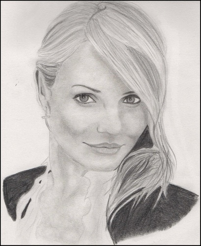 Cameron Diaz por drawingmydream